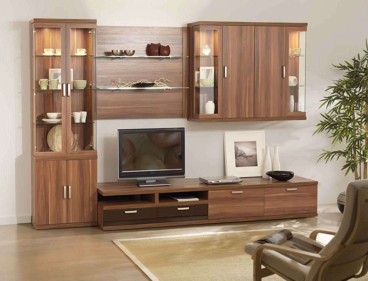 Пристенная Мебель Для Гостиной Фото В Москве